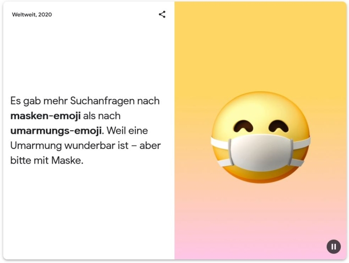 google trends maske